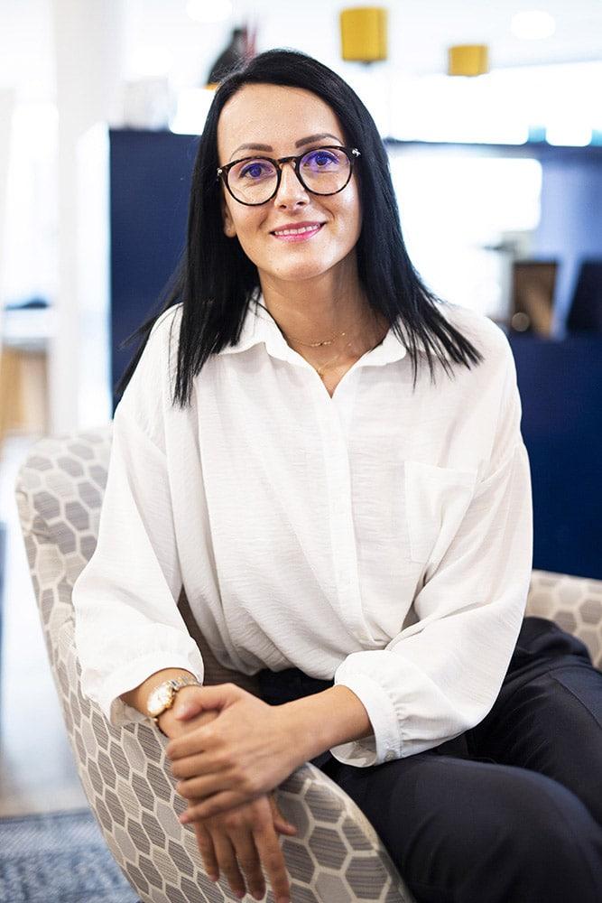 Corporate portrait woman